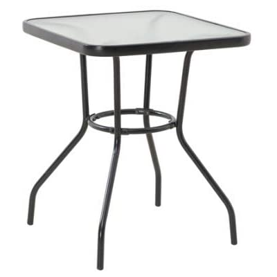 "SUNJOY GROUP INTL PTE LTD FS Marbel 24"" SQ Table S-DNT739PST-A: Home & Kitchen"