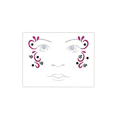 Fancy Face Paint Color Halloween Kids Zebra Fairy Face Tattoo -