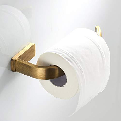 WskLinft Copper Wall Mount Toilet Roll Paper Hook Rack Holder Tissue Dispenser Organizer