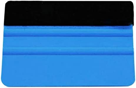 Plastic Car Squeegee Decal Wrap Applicator Soft Felt Edge Scraper Paster Tool lyhhai