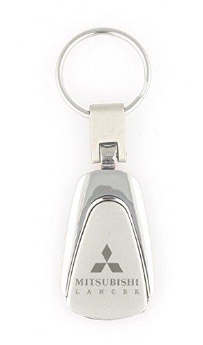 Teardrop Mitsubishi Lancer Keychain /& Keyring