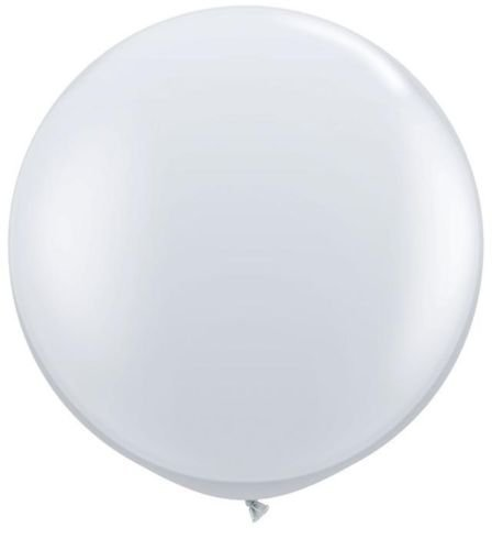 jewel-diamond-clear-3ft-giant-qualatex-latex-balloon-by-jewel-finish-solid-colour-3ft-latex