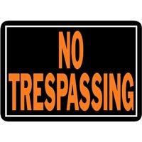 "029069008048 - Hy-Ko 804 No Trespassing Sign, 10"" x 14"", Aluminum carousel main 0"