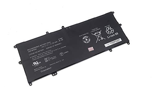 Fully New VGP-BPS40 Replacement Laptop Battery Compatible with Sony Vaio Flip SVF 15A SVF15N17CXB 14A SVF14NA1UL - 15.0V 48Wh/3170mAh (Vaio Flip)