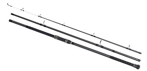 (Shakespeare Unisex's Sigma Supra 3-Piece Beach Caster Rod-Grey, 13 ft/Size 4/8 oz)