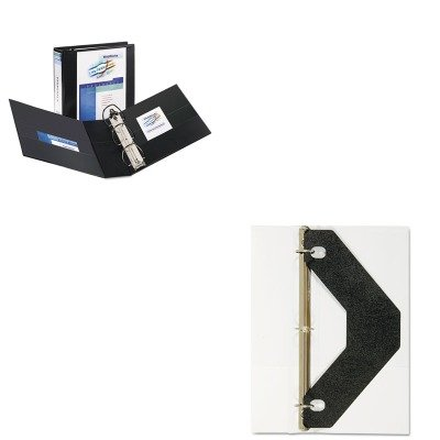 Three Rings Office In Kitave09700ave75225 Value Kit Avery Durable View Binder With Two Booster Ezd Rings ave09700 Amazoncom