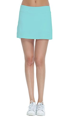HonourSport Women's Club Tennis Underneath Skorts Light Blue S