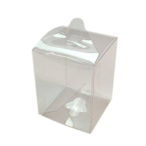 mytorten País Acetato KartonProfis transparente 5 x 5 x 6,5 cm 5 Unidades 5x5x6,5cm: Amazon.es: Hogar