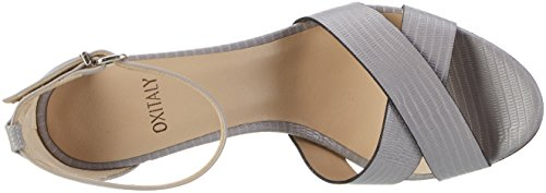 Femme Ouvert 113 Oxitaly Gris Sandales Safiana Bout O1qz80w