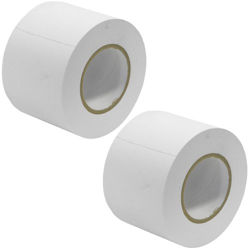 Seismic Audio - SeismicTape-White604-2Pack - 2 Pack of 4 Inch White Gaffer's Tape - 60 yards per (4in Cable Tape)