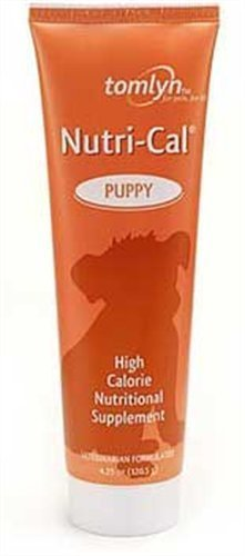 Nutri-Cal for Puppy High-Calorie Nutritional Supplement, 4.25-Ounce by Tomlyn Products