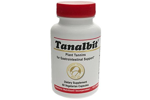 Tanalbit® 60 caps/Bottle Plant Tannins Gastrointestinal Support