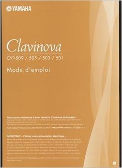 Yamaha clavinova user 39 s manual cvp 509 cvp 505 cvp 503 for Yamaha clavinova clp 200 price