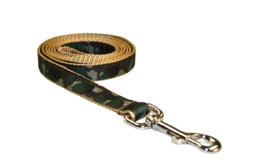 Sassy Dog Wear 6-Feet Camouflage Dog Leash, Medium from Sassy Dog Wear