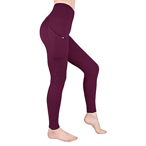 Yoga Pants for Women with Pocket Tummy Control High Waist Athletic Leggings Women GYM Running 4 Way Stretch Workout Pants