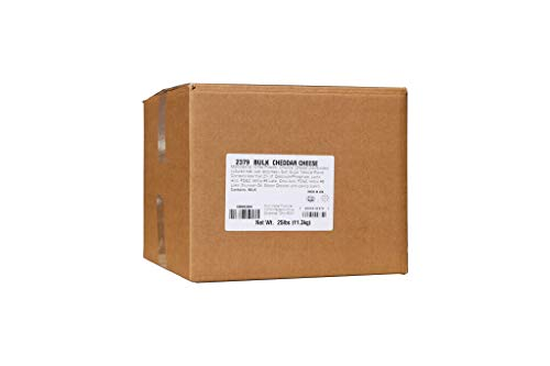 Beach City Wholesalers Savory Shakers bulk Cheddar Cheese 25 lb box (1 count) by California Concessions Corp (Image #1)