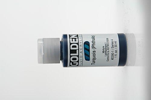 Golden Fluid Acrylics - Turquois  - 1 oz Bottle
