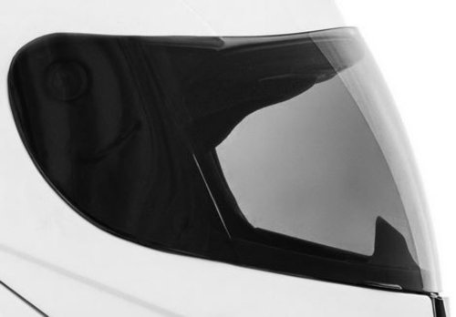 ersatz Visier Helmvisier für ATO 118 K71 Helme (Farbe: dunkel getönt)
