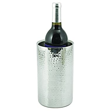 Viski 2666 Hammered Metal Bottle Cooler, Copper