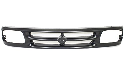 Evan-Fischer EVA1777209769 Grille for Mazda Pickup 94-97 Painted-Black BaSE/SE Models Replaces Partslink# MA1200145