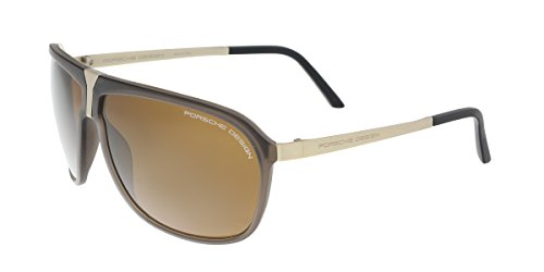 PORSCHE DESIGN P 8618 Sunglasses Polarized Brown - Aviators Porsche Design