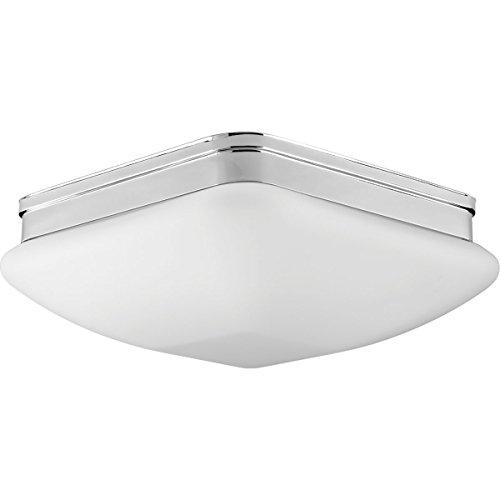 Progress Lighting P3992-15 Contemporary/Soft 3-60W Med Flush Mount, Polished Chrome