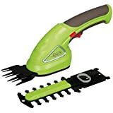 Garden Gear Garden Hedge Trimming Cordless Shears Lightweight Handheld 3.6V with 80mm Cutting Blade by (Trimming Shears)