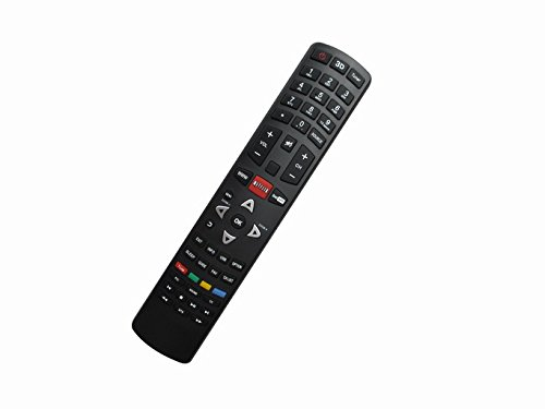 General Replacement Remote Control Fit for TCL L40FHDF12TA L26HDM11 LE43FHDF3300TT LCD LED HDTV Smart 3D TV by HCDZ
