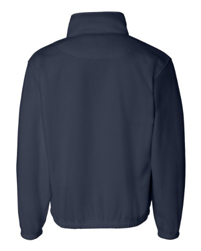 Sierra Pacific Mens Quarter-Zip Fleece Pullover 3051 -Navy L