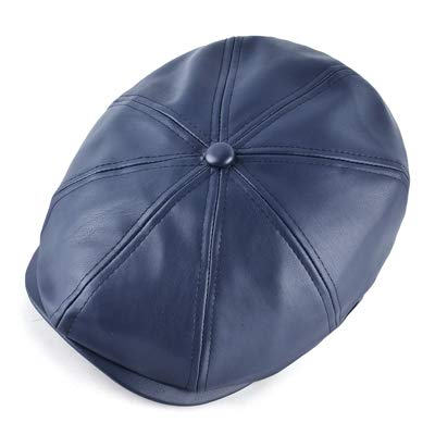 Amazon.com: Daisy Storee Fashion Winter Berets caps for Men Octagonal Cap Women Faux Leather Beret hat Men Peaked Flat Hats Gorras Planas: Kitchen & Dining