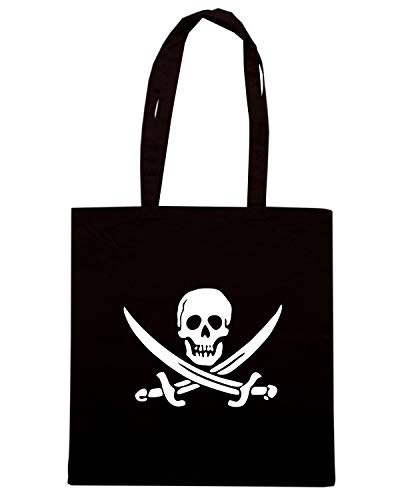 Nera Speed PIRATE TR0081 Shirt CROSSBONES Shopper ROGER SKULL Borsa JOLLY RwxRrt0dq1