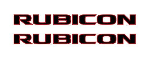amazon com jeep wrangler rubicon 10a style 2 color hood decal rh amazon com jeep wrangler logo Jeep 4x4 Logo