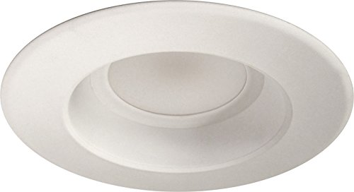 NICOR Lighting Dimmable 900-Lumen 2700K LED Recessed Retrofit Downlight Kit for 5-6-Inch Housings, White Trim (DLR56-2709-120-2K-WH) by NICOR Lighting