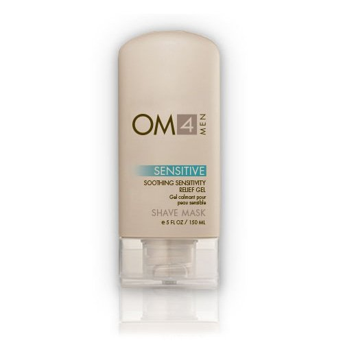 (Organic Male OM4 Sensitive Shave Mask:Soothing Sensitivity Relief Gel)