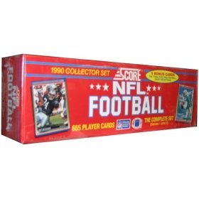 - Score Football Cards Factory Set - 1990