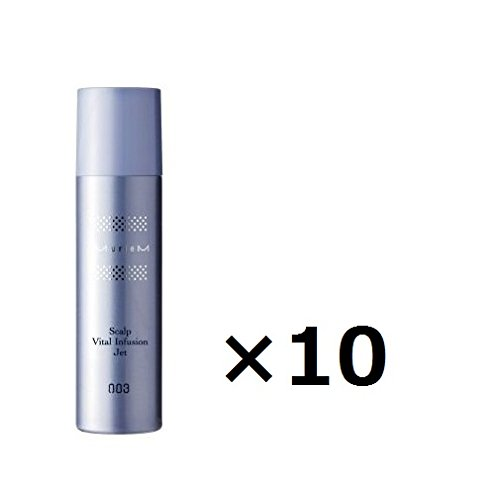 【10本セット】ナンバースリー ミュリアム 薬用スカルプバイタル インフュージョンジェット 160g B07FYC1V6M
