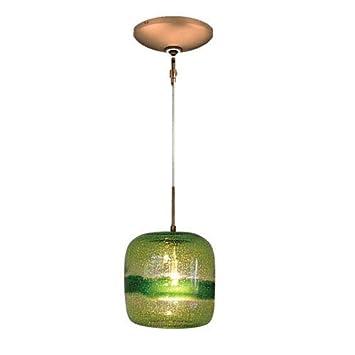 Amazon.com: Jesco iluminación kit-qap407-gn evisage VI 1 luz ...