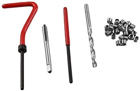 WFFF 131pcs Thread Repair Tool High Speed Steel Thread Sleeve Tap Combination Car Repair Hardware Tool