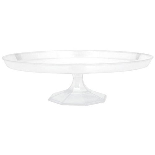"""Amscan Clear Small Dessert Stand Food Tasting Party Tableware & Serveware, Plastic, 9"""". Party Supplies"""
