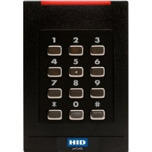 HID - 921PTNNEK0001V - HID multiCLASS SE RPK40 Smart Card Reader with Keypad by HID