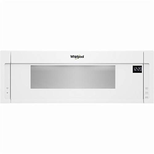 Whirlpool 1.1 Cu. Ft. White Low Profile Microwave Hood Combination – WML55011HW