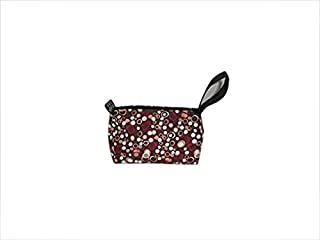 product image for Toiletry or shaving kit holds all your essentials,cosmetic bag Made in USA. (Brown Circle)