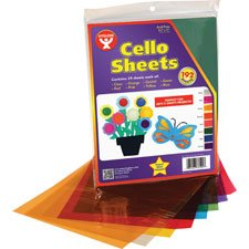 Hygloss Products Cellophane Sheets