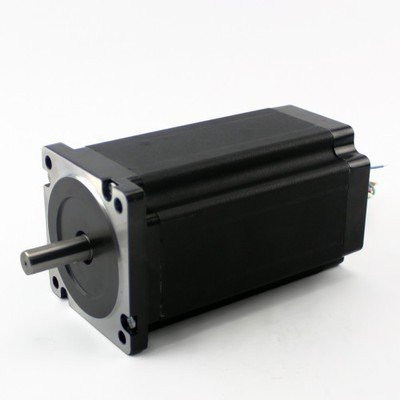 Nema 34 Single Shaft Stepper Motor 1810 Oz-in, - Single Shaft