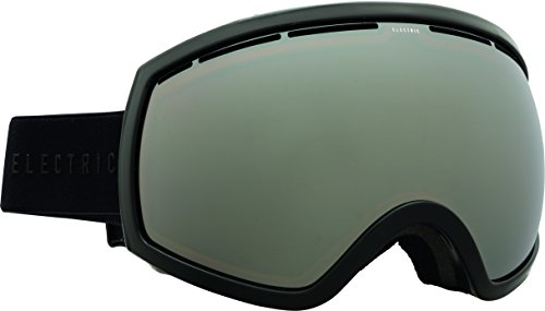 Electric Visual EG2 Gloss Black/Silver Chrome+Bonus Lens Snow Goggle