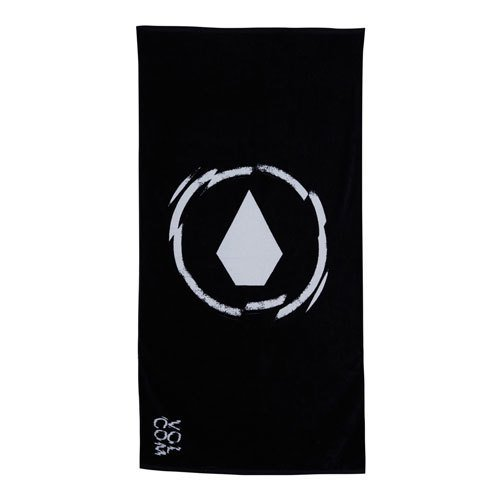 Volcom Adopt A Beach Towel One Size Black