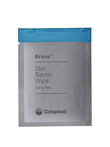 - Brava Skin Barrier Wipe, Sting-Free, Alcohol-Free, Silicone-Based (Box of 30)