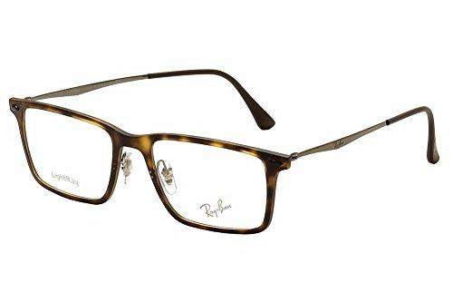 Ray Ban Optical Montures de lunettes RX7050 Pour Homme Matte Black, 52mm 5200: Matte Tortoise