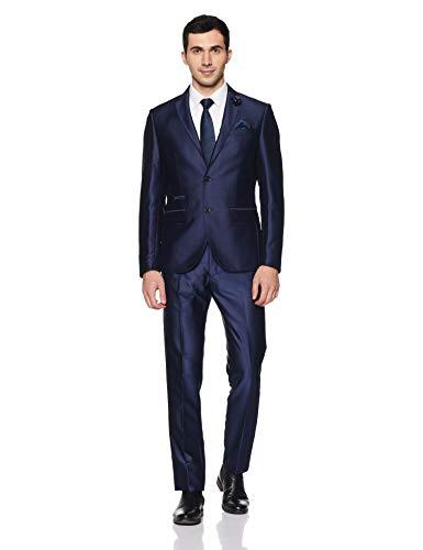 blackberrys Men's Notch Lapel Slim Fit Suit
