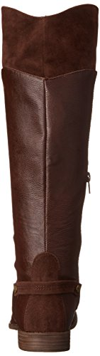 Women's Riding Sierras Hush Brown Dog Elka Rocket PU Boot 7Oag5x